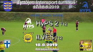 Tyttöjen Intersport-turnaus 2019 HyPS 2 T12 vs Ilves T12 Finaali