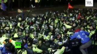 В Южной Корее проходят ожесточенные протесты против установки оборудования для THAAD