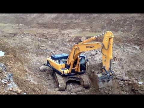 Video Pásové rypadlo HX 480L