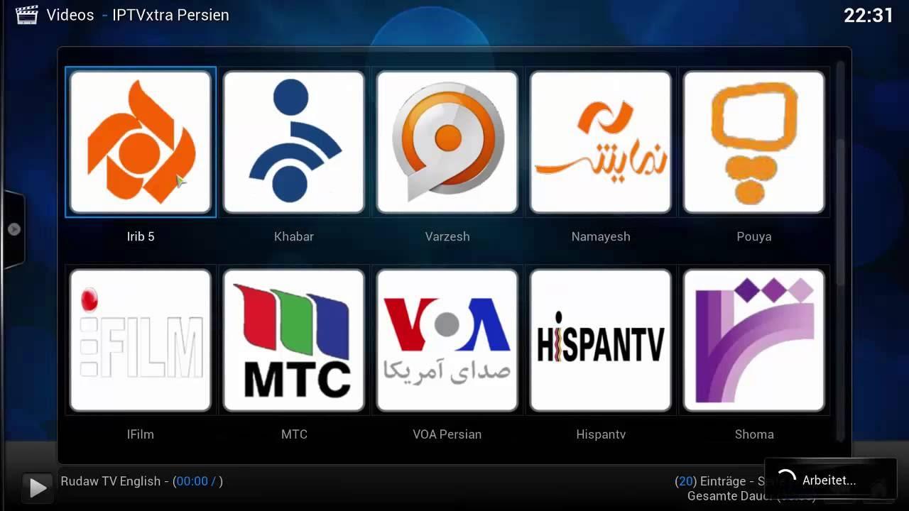 Getting Persian/Iranian Channels on XBMC Kodi 15 1 for free IPTV add-on