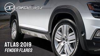 Fender Flares - VW Atlas 2019 - ING
