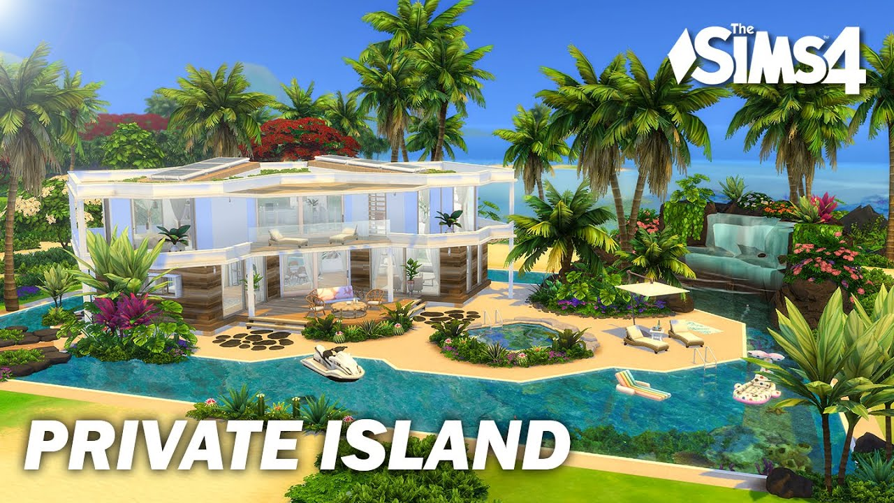 Private Island | No CC | Sims 4 | Stop Motion