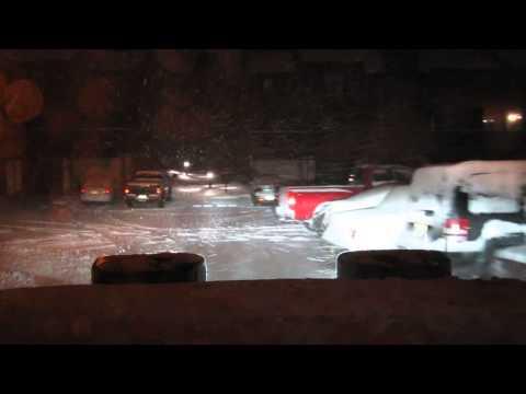 Snow Plowing - Jan 2, 2014