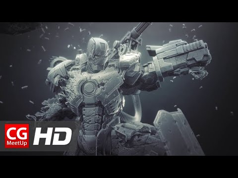 "CGI 3D Breakdown HD ""Making of War Machine"" by Joe Grundfast | CGMeetup"