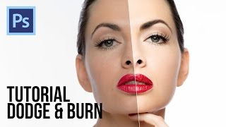 Tutorial - Dodge & Burn (contouring) - Photoshop Profissional 2017 🔥