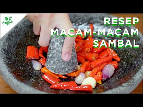 Resep Macam-Macam Sambal