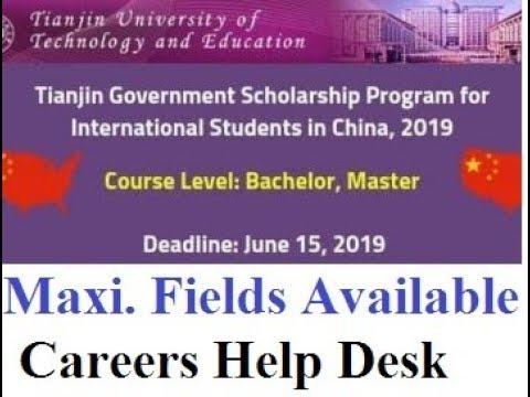 Nankai University Scholarship Program 2019 For Non – Dibujos Para