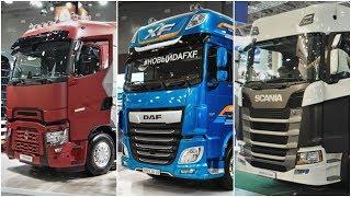 DAF SCANIA RENAULT FORD - Какой лучше? Первые впечатления от новых грузовиков на Комтранс 2019