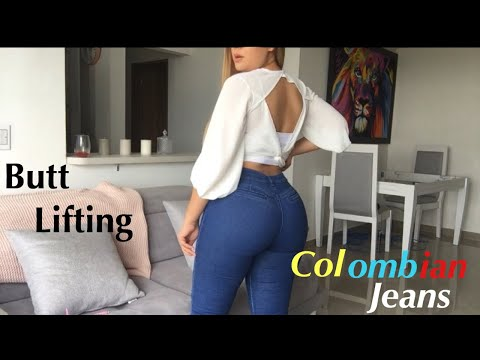 BUTT LIFTING COLOMBIAN JEANS | TRY-ON | JESSICA SANCHEZ ♡