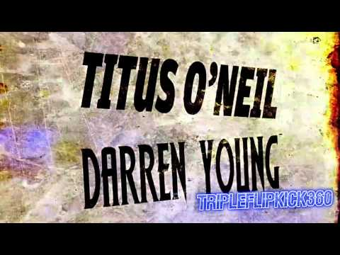 Titus O'Neil And Darren Young (The Prime Time Players) Theme Song Titantron 2012