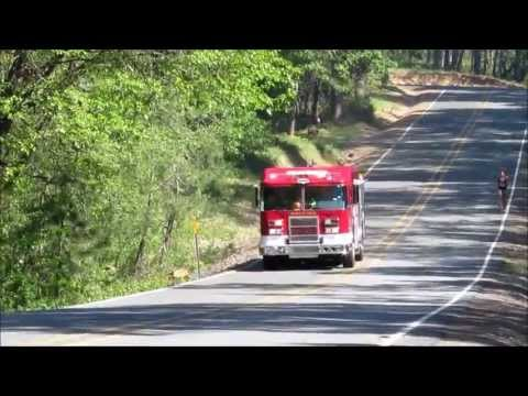 Grants Pass Fire , ODF Fire and Rural/Metro Fire responding
