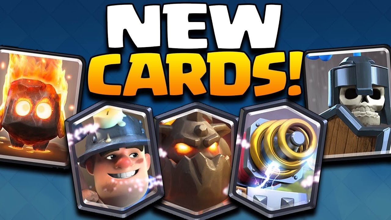 ... Guards, Lava hound, Healer (Clash Royale May Update 2016) - YouTube