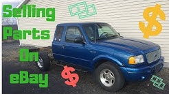 Scrapping a Ford Ranger For Parts to Sell On eBay