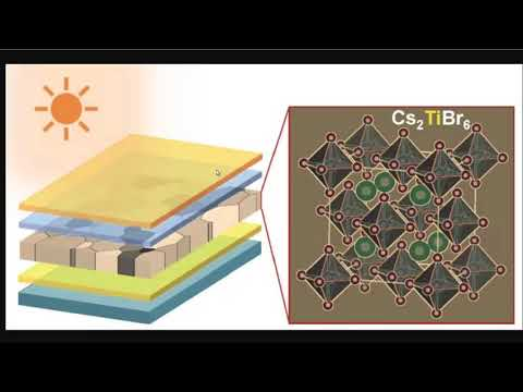 Can Titanium Solar Cells Double Efficiency? - New Perovskite Solar Technology