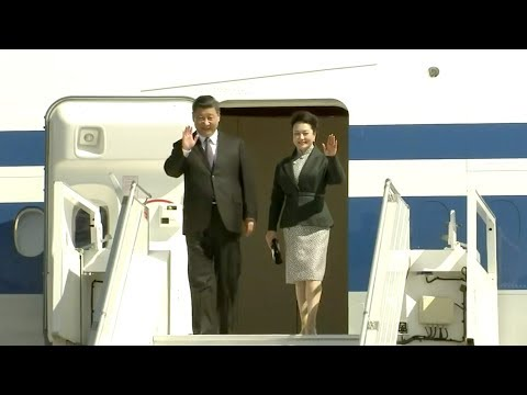 Chinese president stops in Nice en route to Monaco
