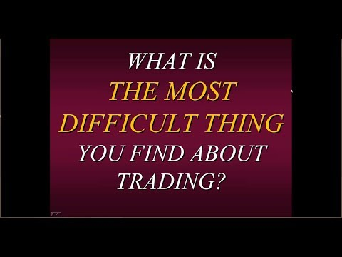 ** NEW ** Steven Primo's What Is The Most Difficult Thing You Find About Trading