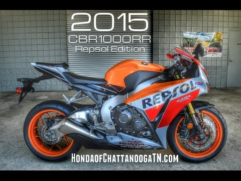 2015 Cbr1000rr Repsol Edition Walk Around Video Honda Of