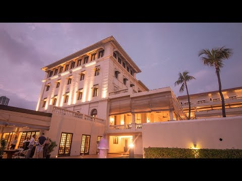 Galle Face Hotel Colombo - travel vlog