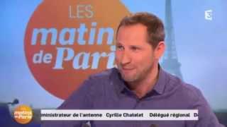 """Dany MAURO dans """"Les matins de Paris"""" de Paul WERMUS sur France3"""