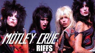 Mötley Crüe riff video tribute mick Mars THE DIRT movie hair metal