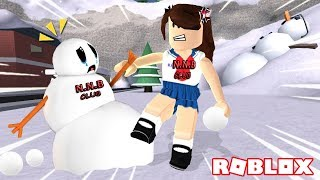 """owner, snow came to a dramatic pretenses ROBLOX SAD STORY [N.N.B!!! """"SNO CLUB. Da brother]"""