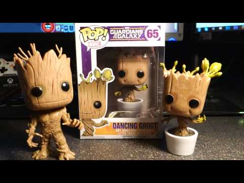 Funko Pop Dancing Baby Groot Review Guardians Of The
