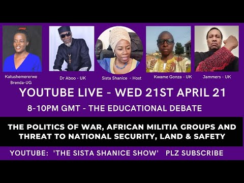 The Politics of War, African Militia Groups and Threat to National Security, Land & Safety