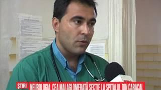 Neurologia, cea mai aglomerată secție la Spitalul din Caracal