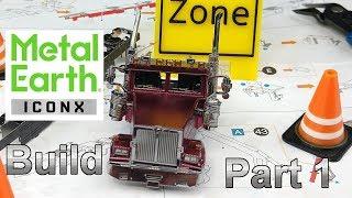Iconx Build - Western Star 4900 Log Truck & Trailer - Part 1 - Truck Cab
