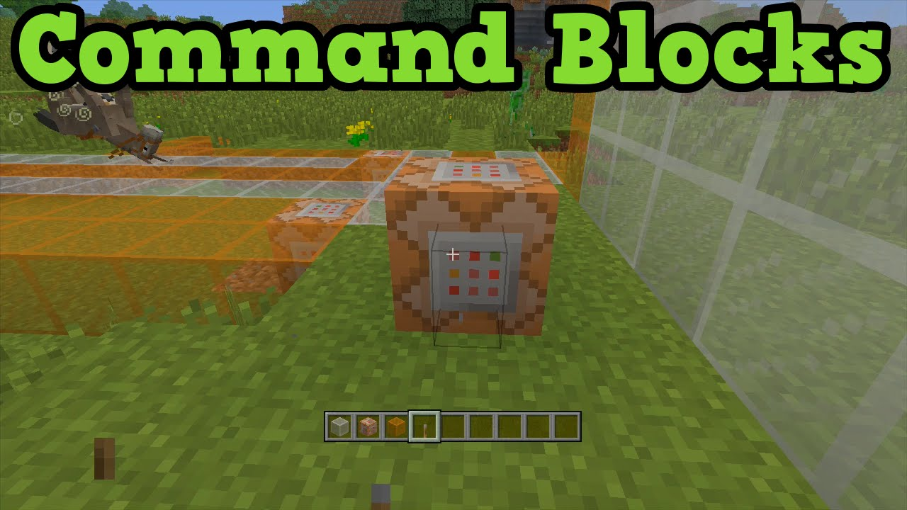 How to make a command block in minecraft 33
