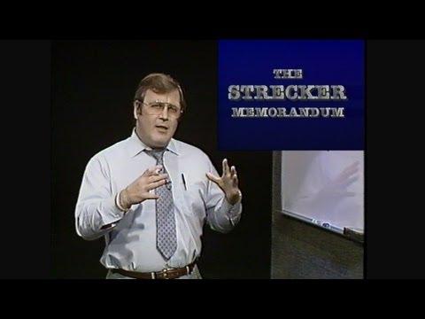 The Strecker Memorandum - Dr. Robert B. Strecker - DVD Quality