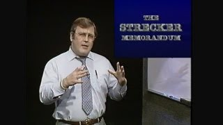 The Strecker Memorandum - Dr. Robert B. Strecker - DVD Quality