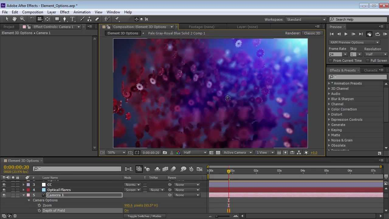 After Effects 3D Showdown: Cineware vs  Element 3D