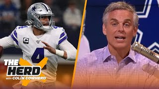 Dak is the perfect franchise tag player, teams don't need a high-paid WR to succeed | NFL | THE HERD
