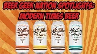 Gambar cover Beer Geek Nation Spotlights: Modern Times Beer | Beer Geek Nation Craft Beer Reviews