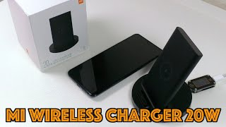 Беспроводная зарядка Xiaomi MI wireless charging на 20W (QI)