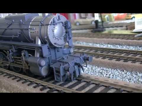 Roco HO scale USATC S160 Steam locomotive