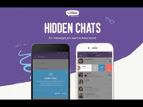 Viber Chats Hide