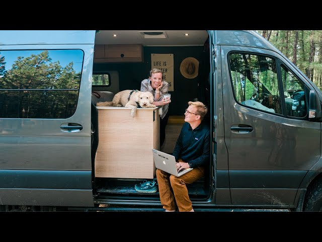 A Week Back On The Road Living Van Life As Digital Nomads (Funny Encounters And Cooking)