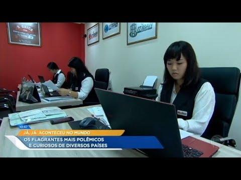 Empresas recrutam brasileiros