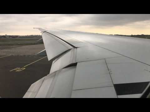 Boeing 777-300ER Garuda Indonesia Pushback, Start up and Take-Off from Amsterdam!!!