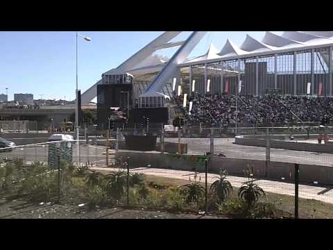 Formula 1 car RB7 at Top Gear Festival. 15 June 2013, Durban,