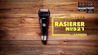 Unboxing CARRERA Rasierer No.521