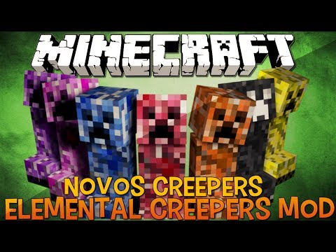Elemental Creepers MOD