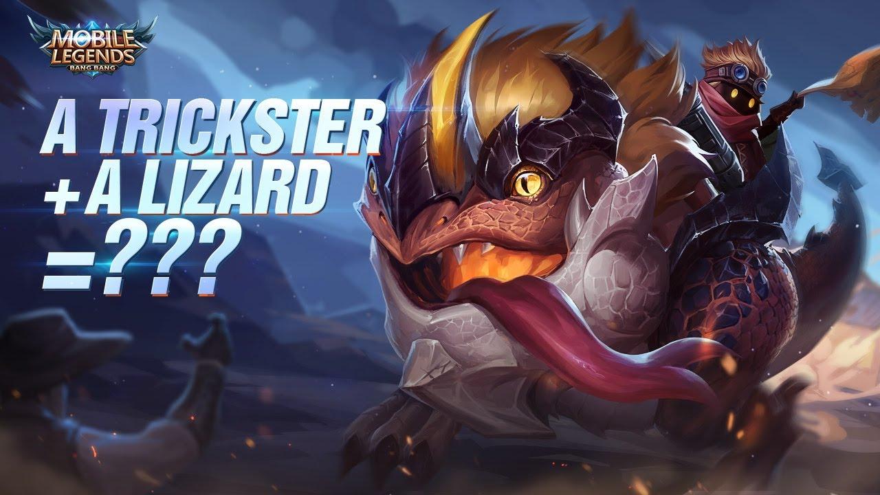A Trickster A Lizard New Hero Barats Trailer Mobile Legends Bang Bang Youtube
