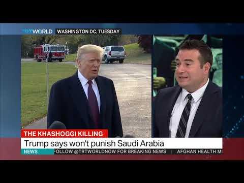 Kashoggi Killing: President Trump says he will side with Saudi Arabia