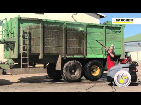 Karcher Video Cold vs Hot water high pressure