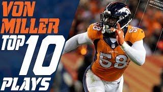 Denver broncos linebacker von miller once again established himself as one of the best defenders in nfl 2016. check out star's top plays from ...