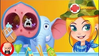 ДОКТОР в ДЖУНГЛЯХ уход за животными 3D ИГРЫ для детей Развивающий мультик - Jungle D -KIds off next