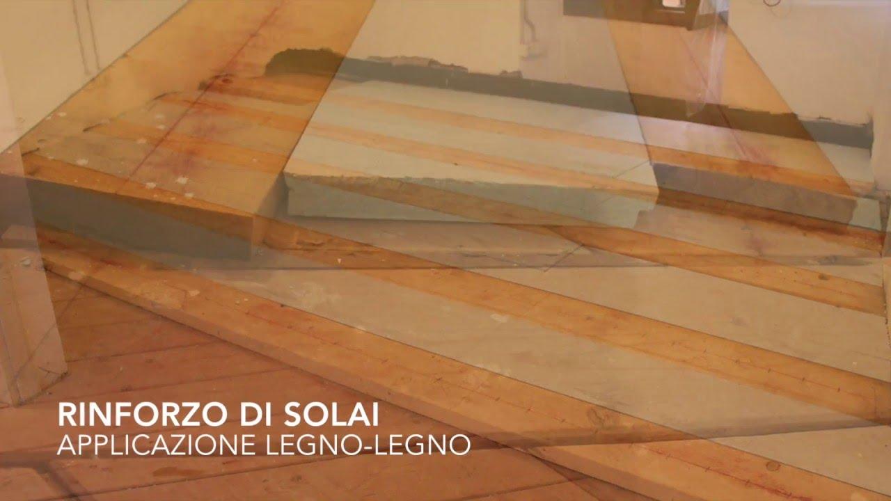 Struttura Di Un Solaio rinforzo di solaio in legno con connettore a secco al-fer autotranciante